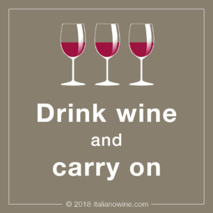Drink wine and carry on IT