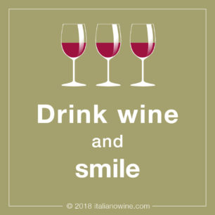 Drink wine and smile IT