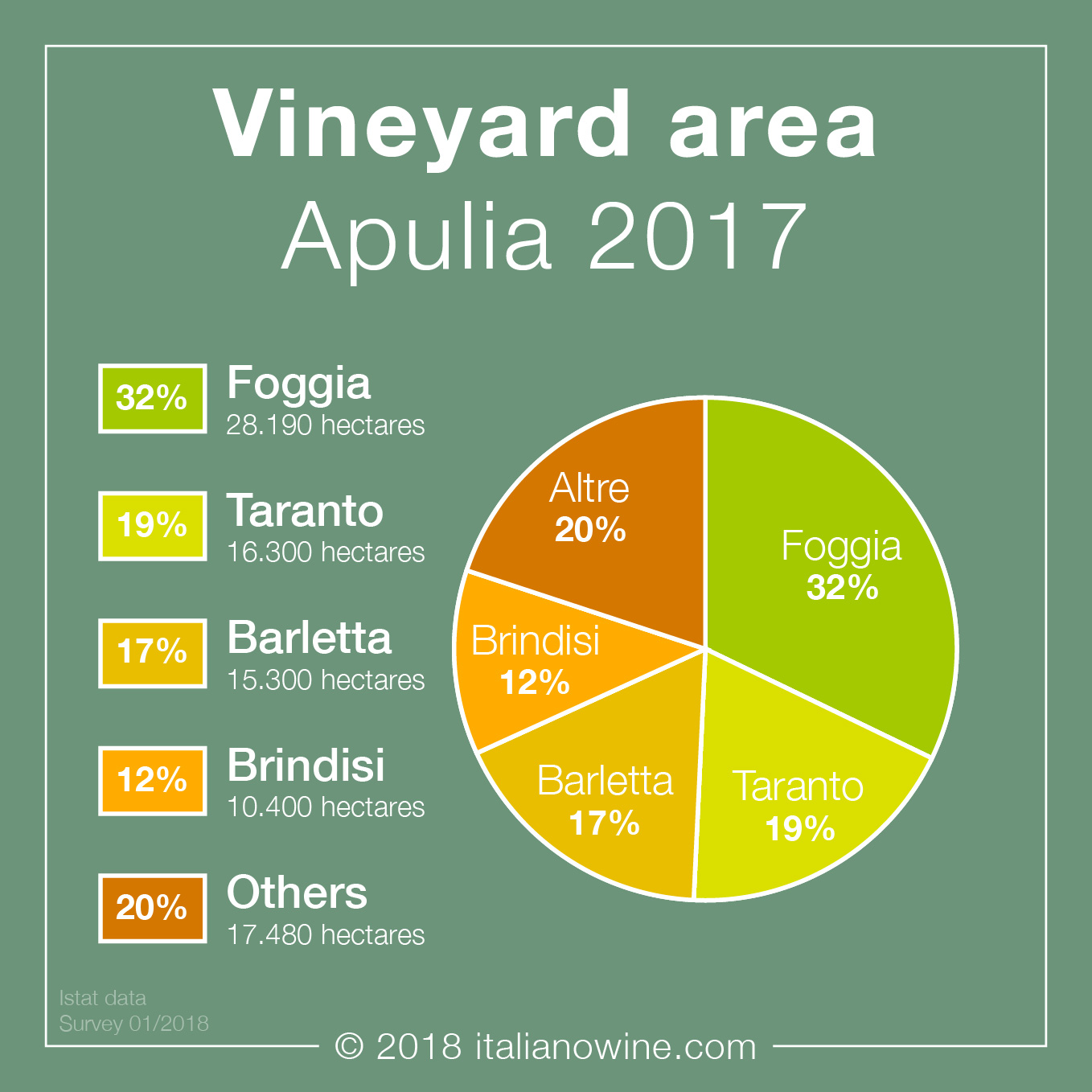 Superficie vitata Puglia EN vineyard area