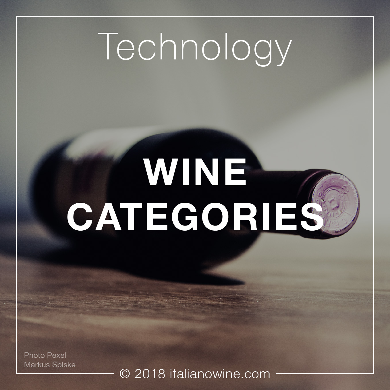 Categorie vino EN wine categories