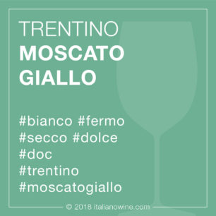 Trentino Moscato giallo DOC IT