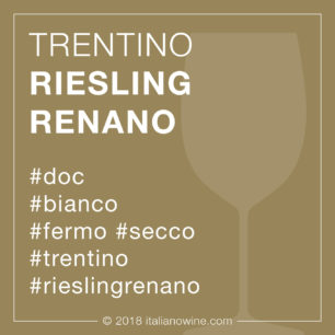 Trentino Riesling Renano DOC IT