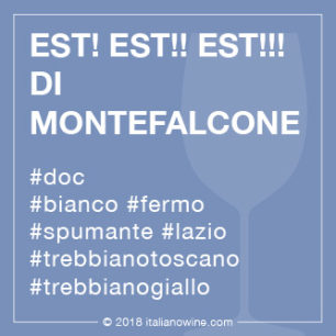 Est! Est!! Est!!! di Monfefalcone IT