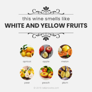 Aromi frutta a polpa bianca e gialla EN aromas white and yellow pulp fruits